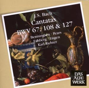 Kantaten Bwv 67,108 & 127, Karl Richter, Mbo & Choir