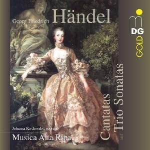 Kantaten und Triosonaten, Musica Alta Ripa, Johanna Koslowsky, J. Kosl