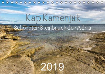 Kap Kamenjak - Schönster Steinbruch der Adria (Tischkalender 2019 DIN A5 quer), Strom