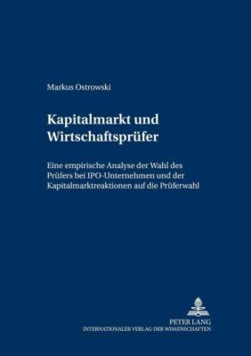 Kapitalmarkt und Wirtschaftsprüfer, Markus Ostrowski