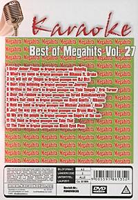 Karaoke - Best of Megahits Vol. 27 - Produktdetailbild 1