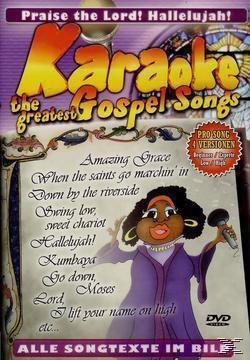 Karaoke - The Greatest Gospel Songs, Karaoke, Various