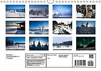Karelien - Winterwandern in Finnland (Wandkalender 2019 DIN A4 quer) - Produktdetailbild 10