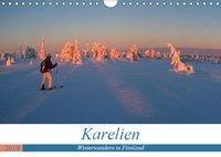 Karelien - Winterwandern in Finnland (Wandkalender 2019 DIN A4 quer), Rolf Dietz