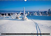 Karelien - Winterwandern in Finnland (Wandkalender 2019 DIN A3 quer) - Produktdetailbild 1