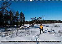 Karelien - Winterwandern in Finnland (Wandkalender 2019 DIN A3 quer) - Produktdetailbild 9