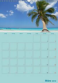 Karibik - Sonne, Strand und Palmen (Wandkalender 2019 DIN A3 hoch) - Produktdetailbild 3