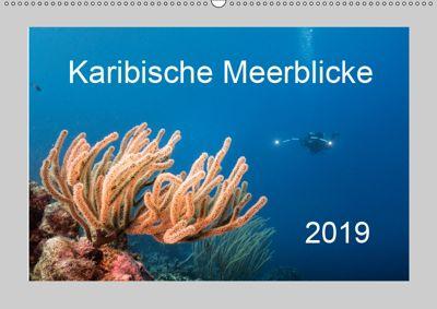 Karibische Meerblicke (Wandkalender 2019 DIN A2 quer), Yvonne Kühnast