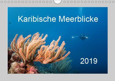 Karibische Meerblicke (Wandkalender 2019 DIN A4 quer), Yvonne Kühnast