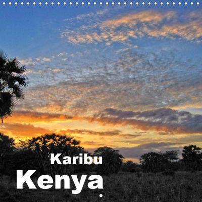 Karibu Kenya (Wall Calendar 2019 300 × 300 mm Square), Rudolf J. Strutz