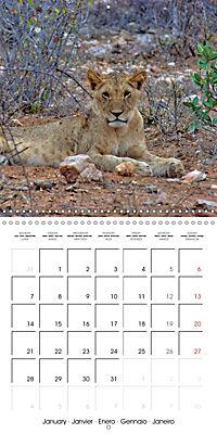 Karibu Kenya (Wall Calendar 2019 300 × 300 mm Square) - Produktdetailbild 1