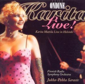 Karita Live, Karita Mattila, Finnish Rso, Saraste