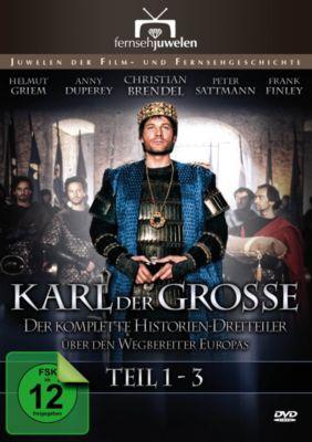 Karl der Grosse - Der komplette Historien-Dreiteiler, Clive Donner
