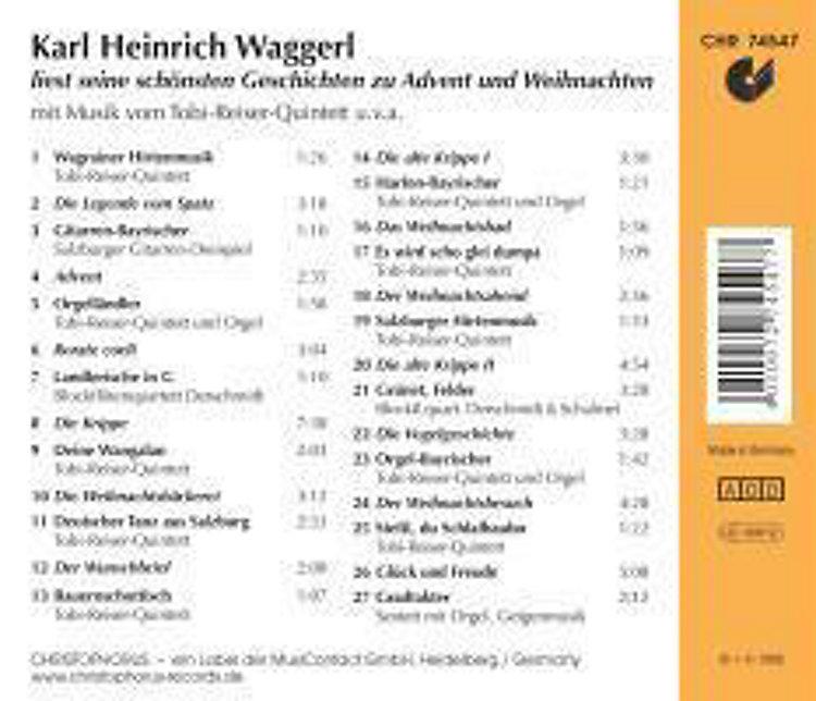 Karl Heinrich Waggerl Liest Seine Schönsten Geschichten Zu