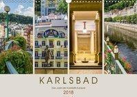 KARLSBAD Das Juwel der Kurstädte Europas (Wandkalender 2018 DIN A3 quer), Melanie Viola