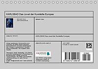 KARLSBAD Das Juwel der Kurstädte Europas (Tischkalender 2019 DIN A5 quer) - Produktdetailbild 13