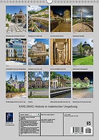 KARLSBAD Historie in malerischer Umgebung (Wandkalender 2018 DIN A3 hoch) - Produktdetailbild 13