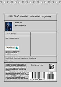 KARLSBAD Historie in malerischer Umgebung (Tischkalender 2018 DIN A5 hoch) - Produktdetailbild 13
