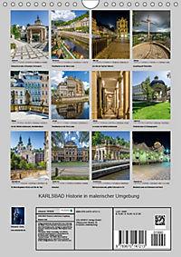 KARLSBAD Historie in malerischer Umgebung (Wandkalender 2019 DIN A4 hoch) - Produktdetailbild 11