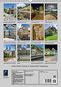 KARLSBAD Historie in malerischer Umgebung (Wandkalender 2019 DIN A3 hoch) - Produktdetailbild 6