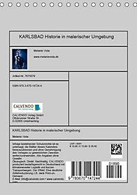 KARLSBAD Historie in malerischer Umgebung (Tischkalender 2019 DIN A5 hoch) - Produktdetailbild 4