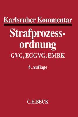 Karlsruher Kommentar zur Strafprozessordnung (StPO) -  pdf epub