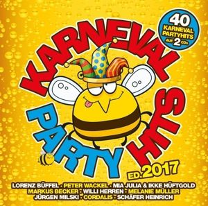 Karneval Party Hits 2017, Various