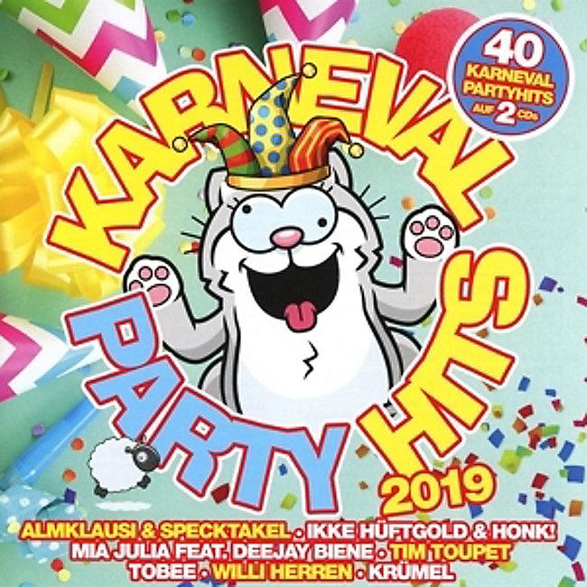 Karneval Party Hits 2019 Cd Von Various Bei Weltbildde Bestellen
