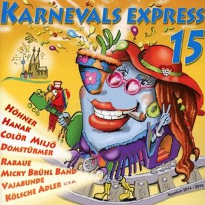 Karnevalsexpress 15, Diverse Interpreten
