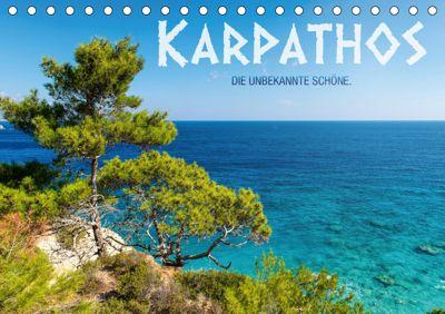 Karpathos - die unbekannte Schöne (Tischkalender 2019 DIN A5 quer), Frank Mitchell