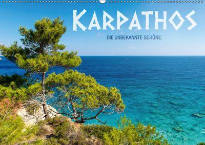 Karpathos - die unbekannte Schöne (Wandkalender 2019 DIN A2 quer), Frank Mitchell