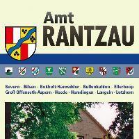 Karte Amt Rantzau mit Amt Hörnerkirchen und Stadt Barmstedt