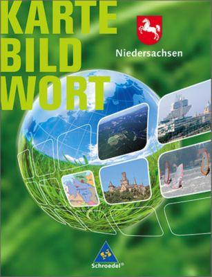 Karte Bild Wort, Grundschulatlanten, Ausgabe 2007/2008: Niedersachsen, Schülerband