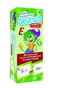 Karteibox Deutsch Klasse 2, ademo Verlag