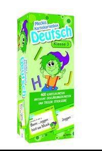 Karteibox Deutsch Klasse 3, ademo Verlag