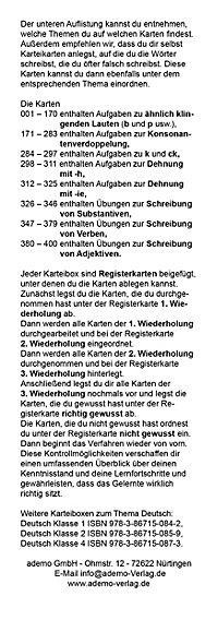 Karteibox Deutsch Klasse 3 - Produktdetailbild 5
