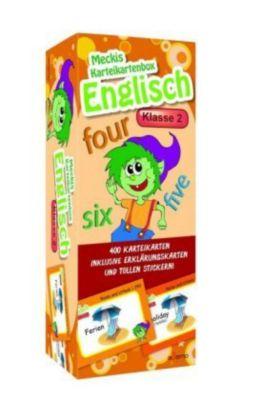 Karteibox Englisch Klasse 2, ademo Verlag