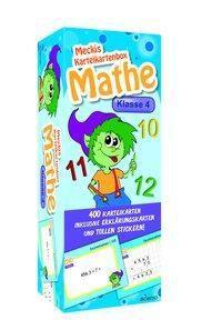Karteibox Mathe Klasse 4, ademo Verlag