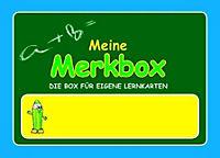 Karteibox Meine Merkbox A7 - Produktdetailbild 1