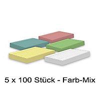 Karteikarten 500 Stück A8 farbig liniert - Produktdetailbild 1