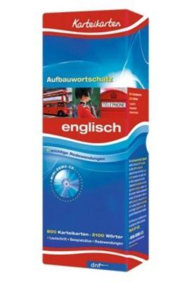 Karteikarten Aufbauwortschatz Englisch, m. Mini-Demo-CD-ROM