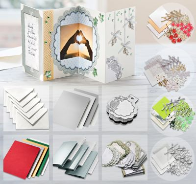 Kartenbastel-Set Leporello