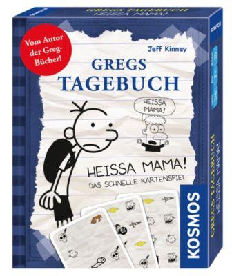 Kartenspiel Gregs Tagebuch Heissa Mama, Jeff Kinney