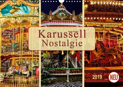 Karussell - Nostalgie (Wandkalender 2019 DIN A3 quer), Peter Roder
