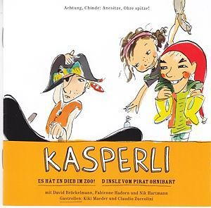 Kasperli - Im Zoo! / Pirat Ohnibart, DAVID BRÖCKELMANN