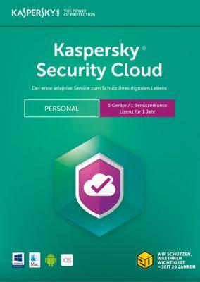 Kaspersky Security Cloud Pers. Ed. 2018 DACH (5D)