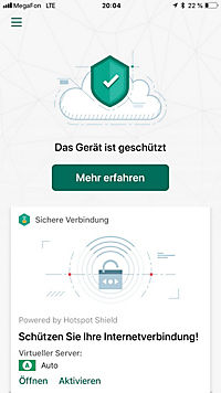 Kaspersky Security Cloud Pers. Ed. DACH (5D) - Produktdetailbild 1