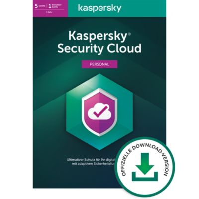 Kaspersky Security Cloud Pers. Ed. DACH (5D)