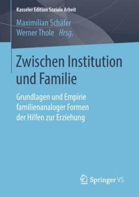 Kasseler Edition Soziale Arbeit: Zwischen Institution und Familie