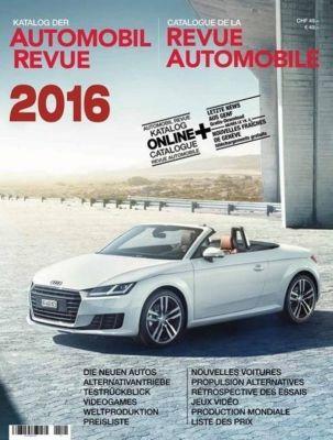 Katalog Der Automobil Revue 2016 Buch Portofrei Bei